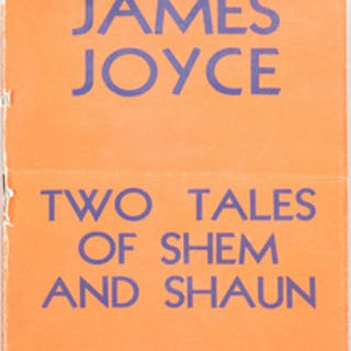 James Joyce, Two Tales of Shem and Shaun