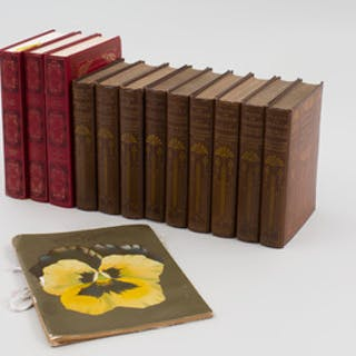 Group of Books, Nine Volumes of Poetry, Three Volumes of Fiction and