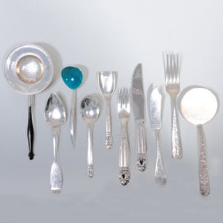 Group of Silver Flatware