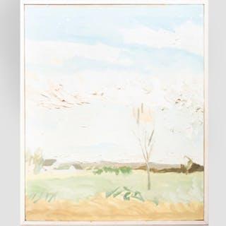 John MacWhinnie (b. 1945): Landscape, Watermill