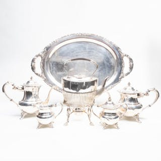 American Silver Four-Piece Tea and Coffee Service