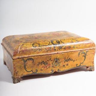 Venetian Rococo Style Lacquer Box