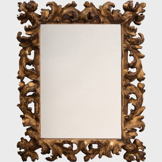 Baroque Style Gilt-Wood Mirror