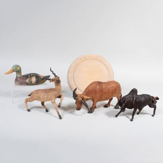 Group of Four Animal Models
