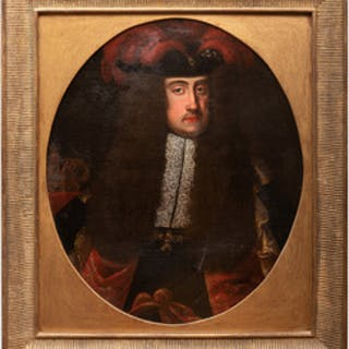 European School: Portrait of a Courtly Gentleman
