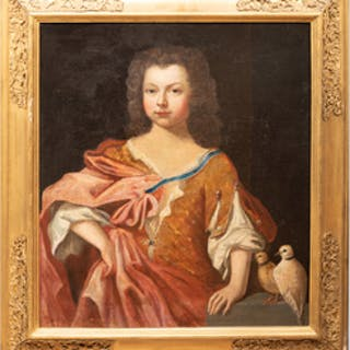 Attributed to Ludwig Galli: Portrait Richard Jones, Age 10
