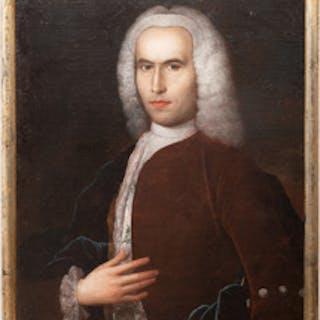 Continental School: Portrait of a Gentleman