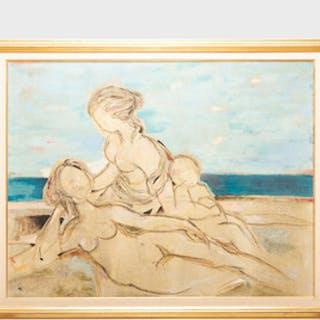 Lazzaro Donati (1926-1977): La Spiaggia