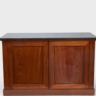 Empire Mahogany Side Cabinet