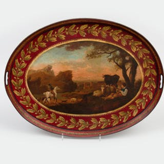 Continental Red Tôle Tray