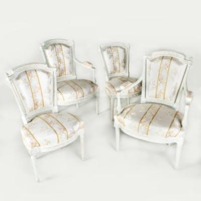 Suite of Louis XVI Seat Furniture