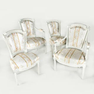 Suite of Louis XVI Seat Furniture