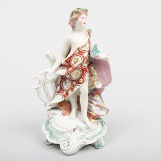 Derby Porcelain Figure of Apollo