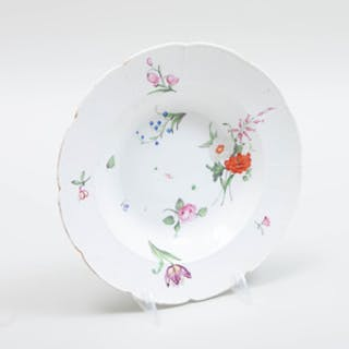 Derby Porcelain Soup Plate