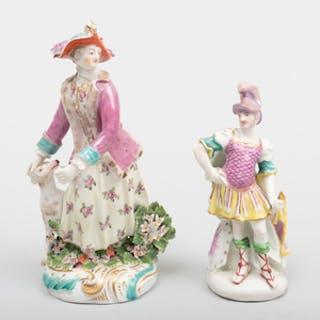 Two Derby Porcelain Figures