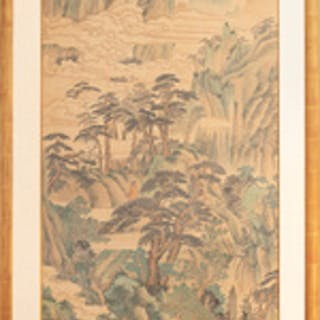 Attributed to Yu Zhiding: Mountain Landscape