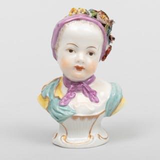 Ludwigsberg Porcelain Kinderbust
