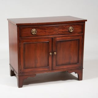 George III Style Mahogany Side Cabinet