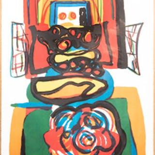 Karel Appel (1921-2006): Composition