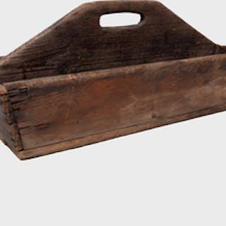 American Rustic Wood Tool Carrier