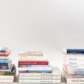 Group of Books Relating to Impressionism