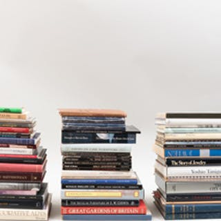 Large Group of Books Related to Decorative Art, Design and Architecture