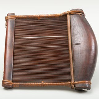 West African Wooden Slip Loom, Possibly Baule or Ashanti