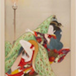 Japanese School: Reclining Figure