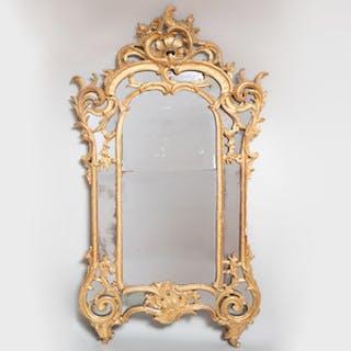 Large Régence Giltwood Mirror
