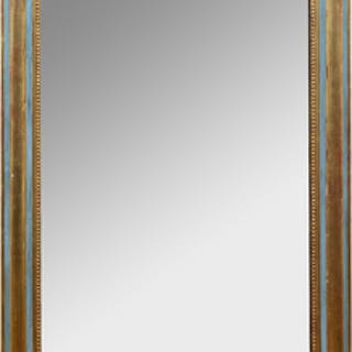 Napoleon III Painted and Parcel-Gilt Mirror