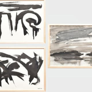 Murray Hantman (1904-1999): Untitled; Untitled; and Untitled