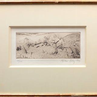 Milton Avery (1885-1965): Japanese Landscape