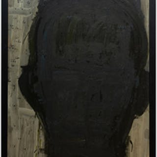 Lester Johnson (1919-2010): Untitled (Head)