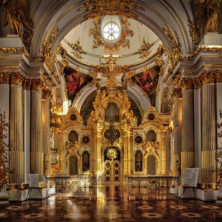 The Grand Church of the Winter Palace