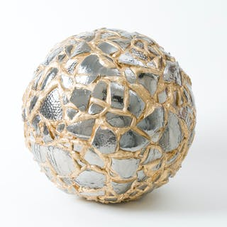 Balancing Act-Gold and Silver Sphere