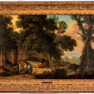 David Teniers (1610-1686) & Jacques D'Arthois (1613-1686)