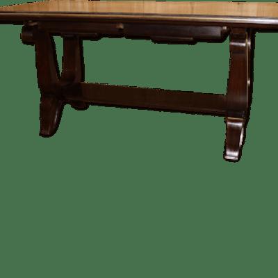 Table basse art déco en palissandre