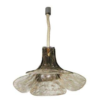 Glass Hanging light by Carlo Nason for Mazzega | dicksonrendall