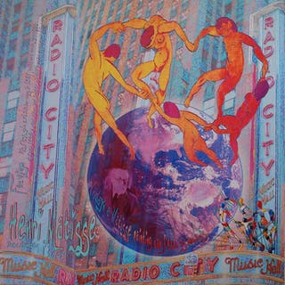 BERG Alan - DANSE AROUND THE WORLD 95X95CM