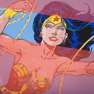 GNIDZAZ Jean-Michel - WONDER WOMAN 105X140CM