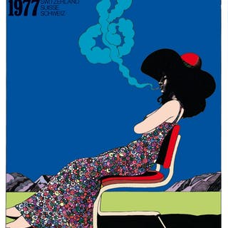 MONTREUX JAZZ FESTIVAL - Milton Glaser 1977