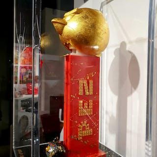 PINKHAS - PEZ - GOLD BIRDS 99X20X20CM