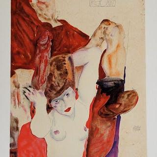 SCHIELE Egon - Erotica