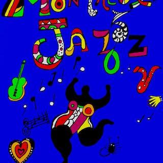 MONTREUX JAZZ FESTIVAL - Niki de Saint Phalle 1984