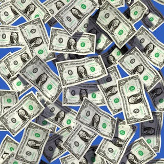MULHEM Dominique - ONE MILLION DOLLAR BABY 71X56CM