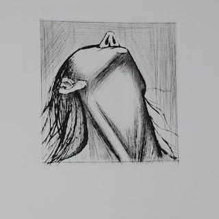 BUFFET Bernard - L'enfer de Dante - Tête renversée