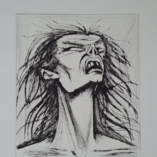 BUFFET Bernard - L'enfer de Dante - Figure édentée