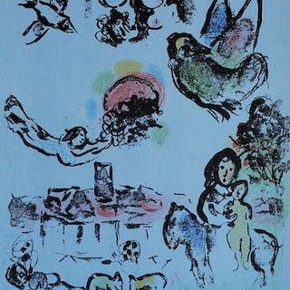 CHAGALL Marc - Nocturne à Vence