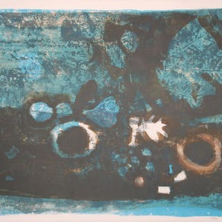CLAVE Antoni - La table bleue