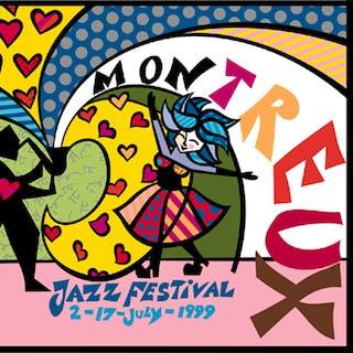 MONTREUX JAZZ FESTIVAL - Romero Britto 1999